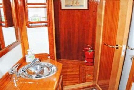 aegeas motor sailer aft deck (2) -  Valef Yachts Chartering - 0092