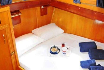 aegeas motor sailer cabins (1) -  Valef Yachts Chartering - 0091