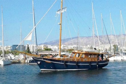aegeas motor sailer profile -  Valef Yachts Chartering - 0088