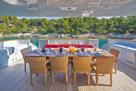 glaros motor yacht aft min -  Valef Yachts Chartering - 0032