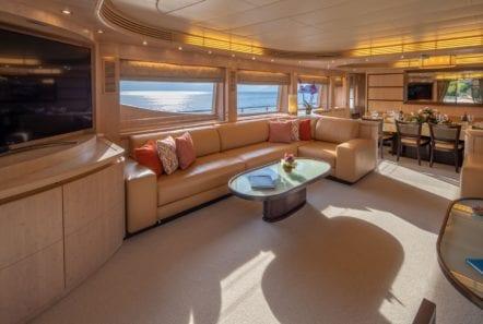 glaros motor yacht salon (2) min -  Valef Yachts Chartering - 0045