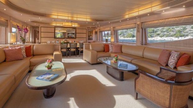 glaros motor yacht salon (3) min -  Valef Yachts Chartering - 0044