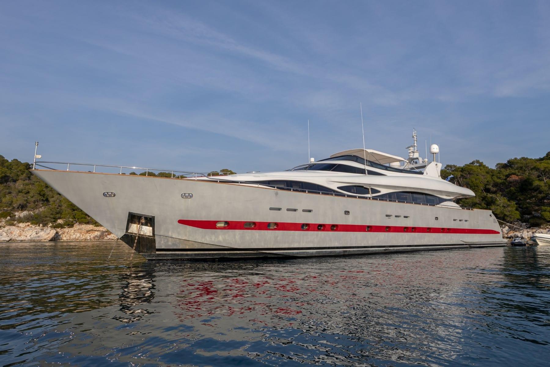 glaros motor yacht sideview min -  Valef Yachts Chartering - 0043