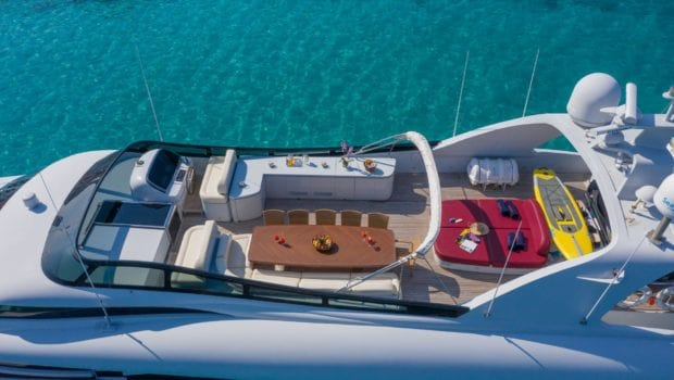 glaros motor yacht sundeck (1) min -  Valef Yachts Chartering - 0041
