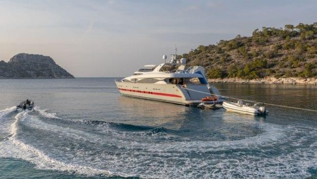 glaros motor yacht tender min -  Valef Yachts Chartering - 0039