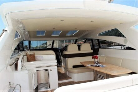 aurelia motor yacht aft salon (3) min -  Valef Yachts Chartering - 0003