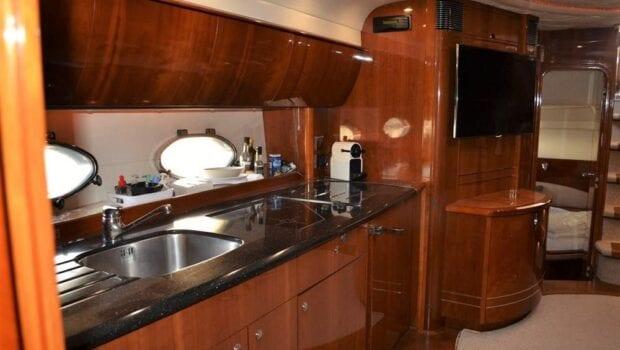 aurelia motor yacht galley min -  Valef Yachts Chartering - 0013