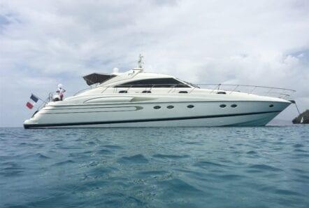 profile of motor yacht Aurelia