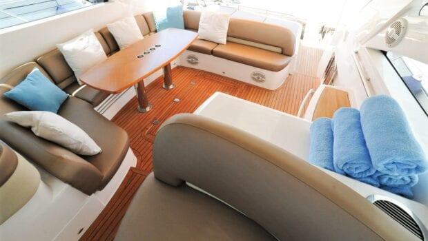 aurelia motor yacht salon deck min -  Valef Yachts Chartering - 0007