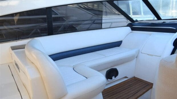 aurelia motor yacht seating -  Valef Yachts Chartering - 0006