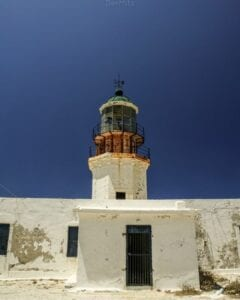 Armentistis lighthouse during daytime