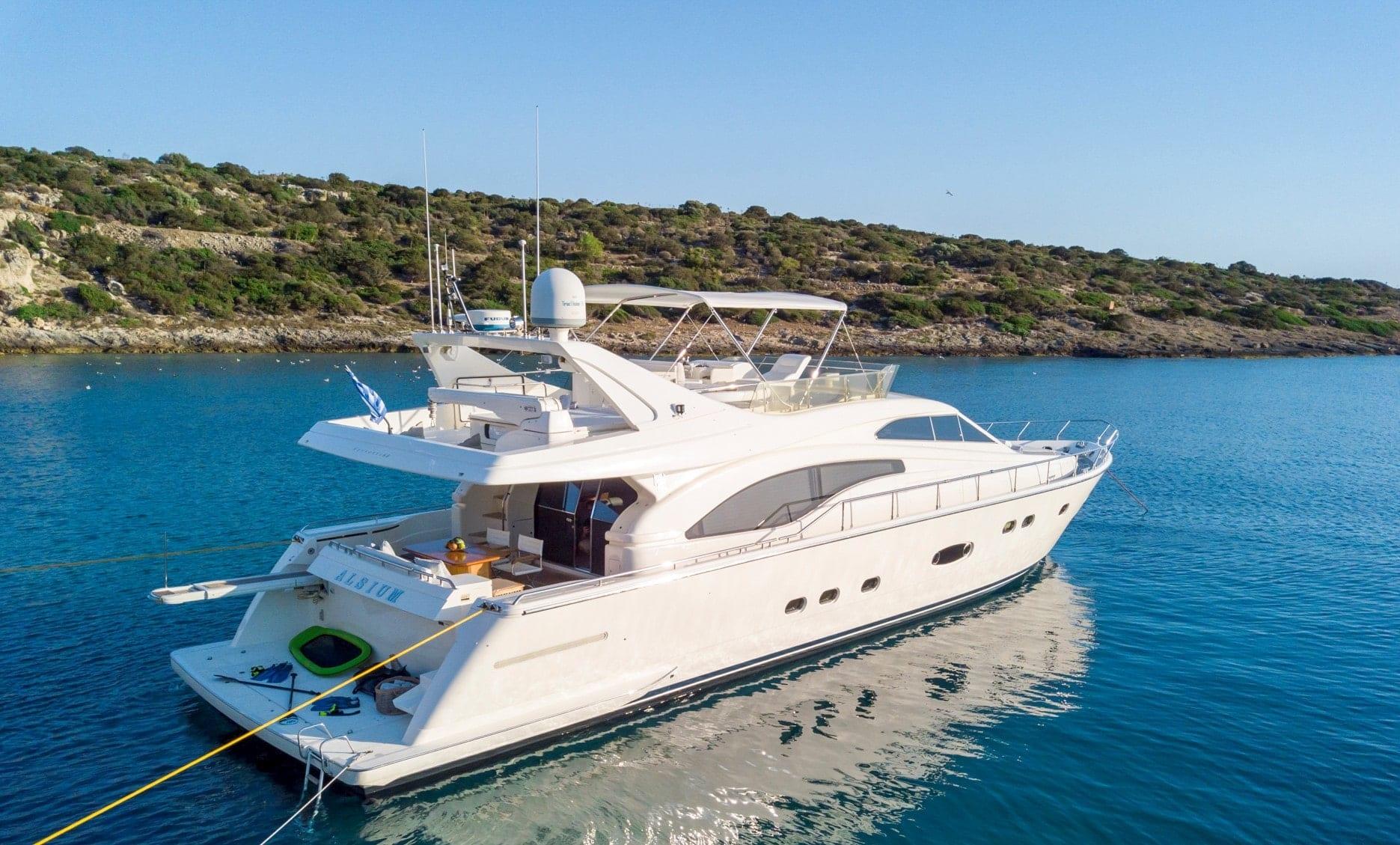 yacht alsium in greece