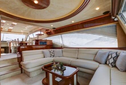 salon of yacht alsium