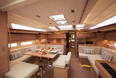 Salon of Drunken Sailor Yacht
