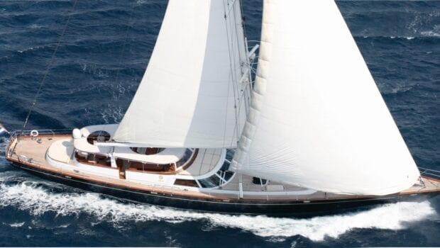 superyacht gitana sailing