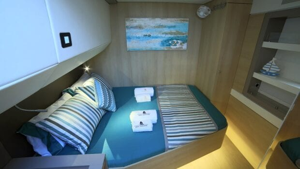 catamaran double cabin