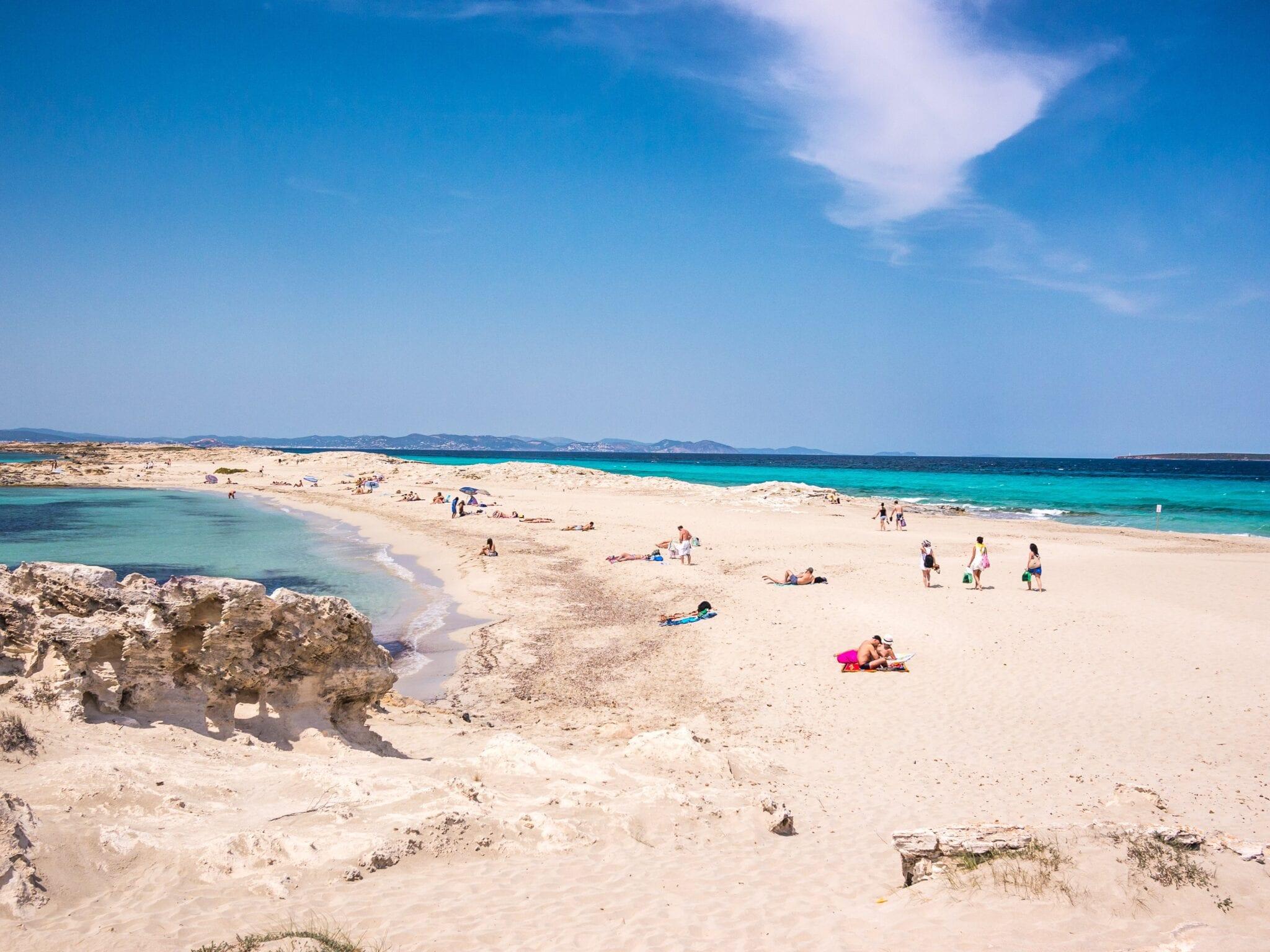 Ses Illetes Beach Ibiza
