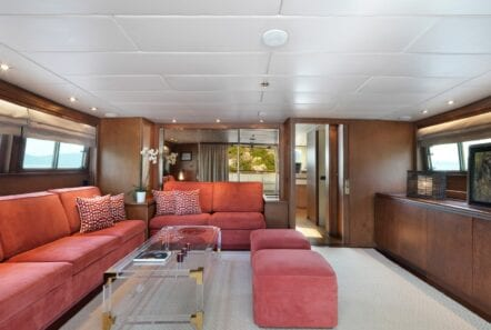 upper deck on Idylle
