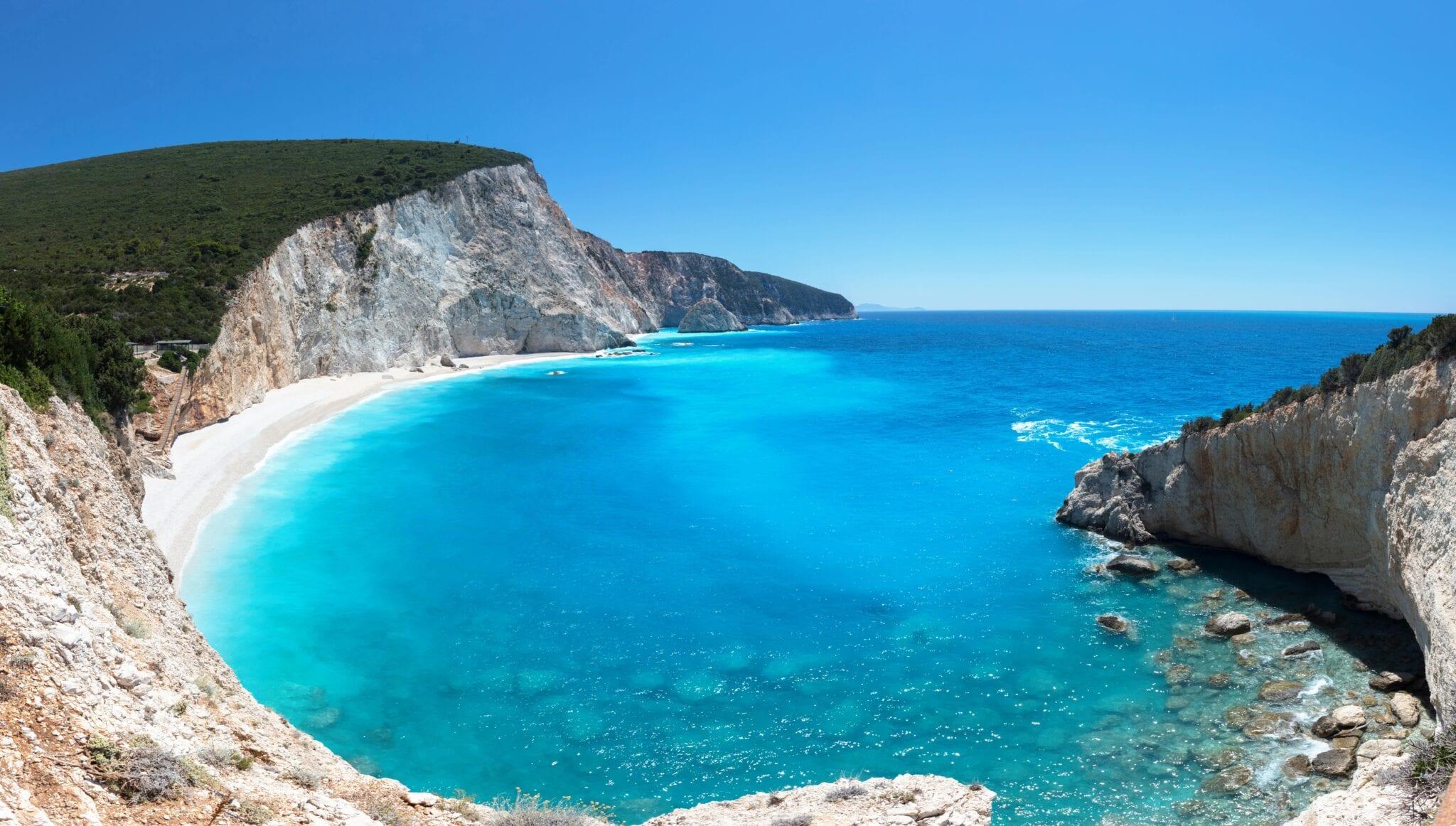 beach in Kefalonia