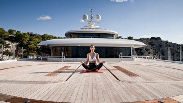 meditation on Chakra yacht