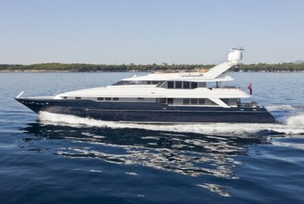 profile of yacht Daloli