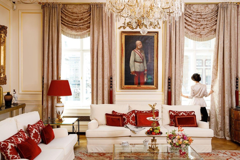 Sacher hotel Suite