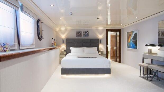 moka megayacht guest cabin