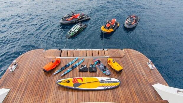 moka megayacht sea toys
