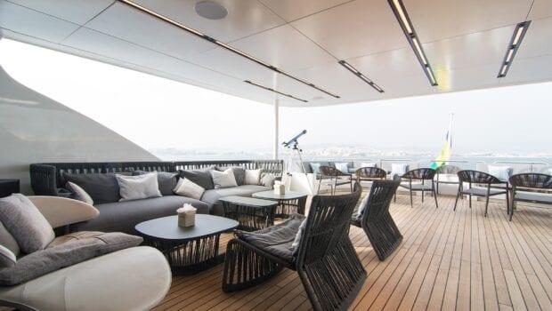 moka megayacht upper deck