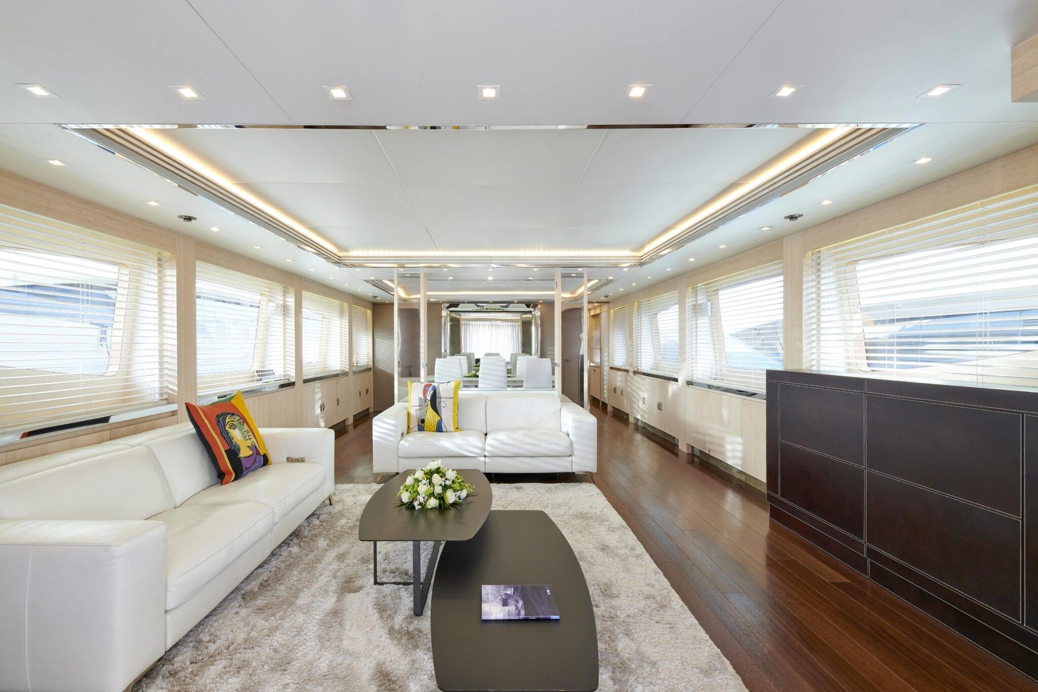 white knight yacht salon