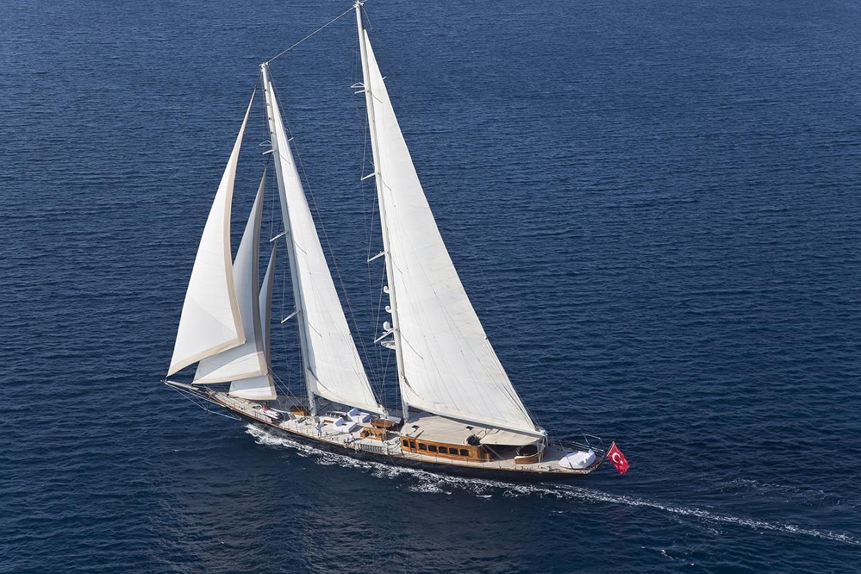 Sailing yacht ARIA I cruising - Valef Yachts Chartering