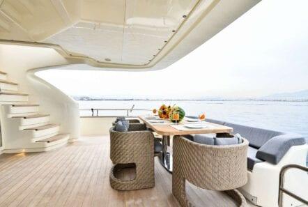 yacht aft of America