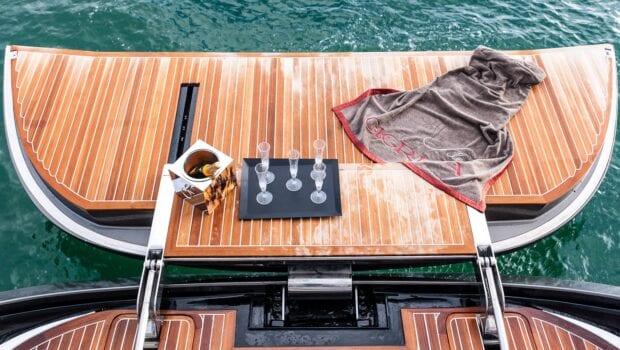 Gigreca Sailing Yacht Aft (1) - Valef Yachts Chartering