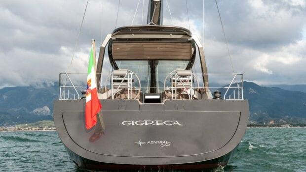 Gigreca Sailing Yacht Aft (2) - Valef Yachts Chartering