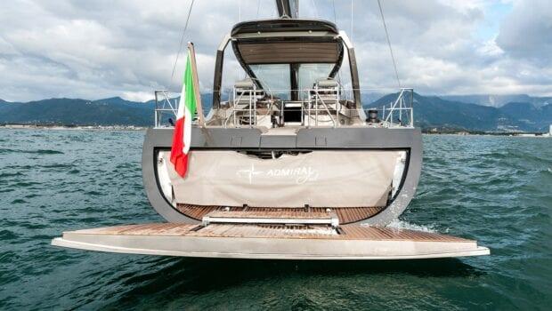 Gigreca Sailing Yacht Aft (3) - Valef Yachts Chartering