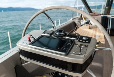 Gigreca Sailing Yacht Cockpit (1) - Valef Yachts Chartering