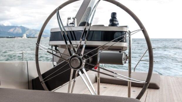 Gigreca Sailing Yacht Helm - Valef Yachts Chartering