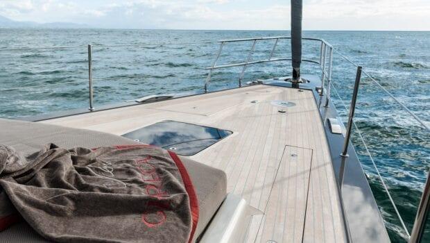 Gigreca Sailing Yacht Outdoor Lounge (2) - Valef Yachts Chartering