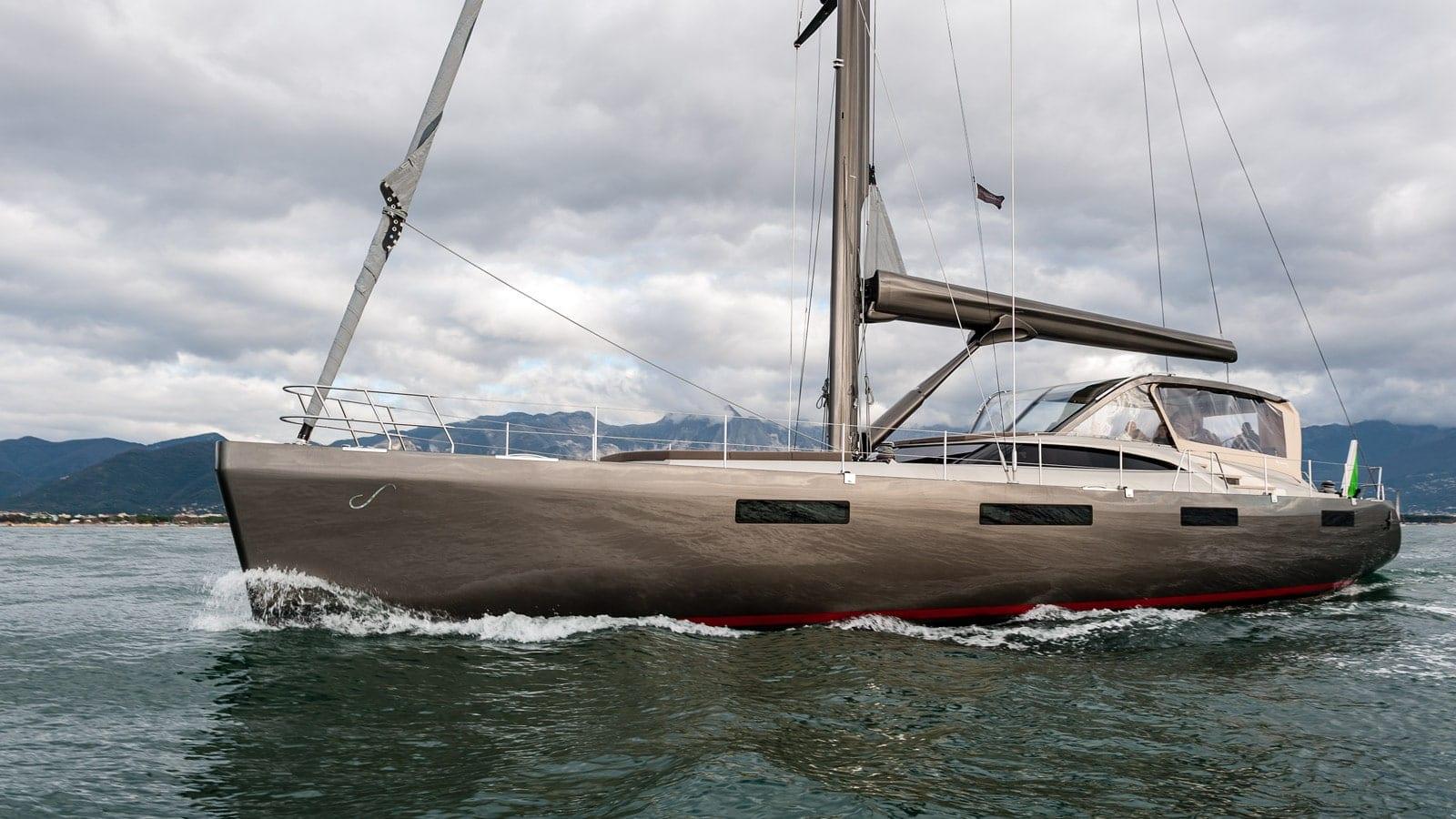 Gigreca Sailing Yacht exterior (2) - Valef Yachts Chartering