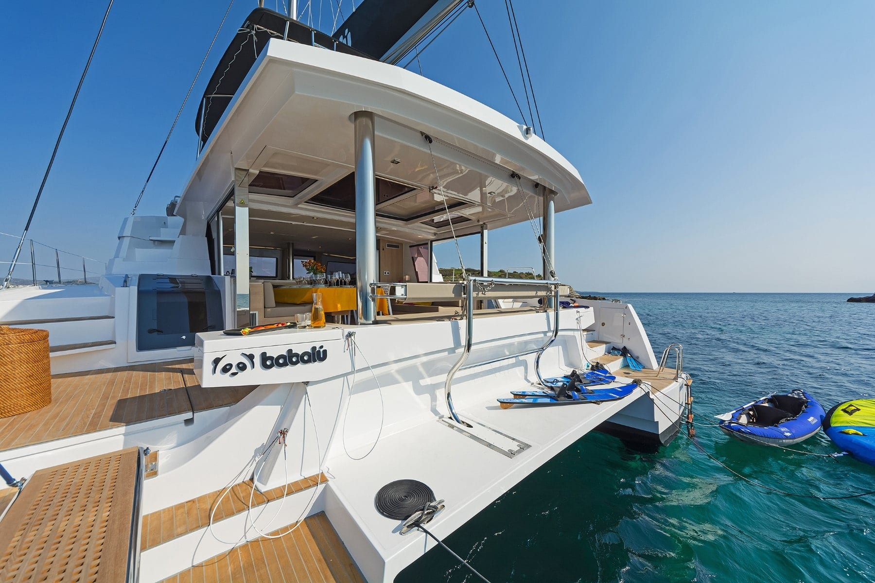 babalu catamaran exterior (1) min - Valef Yachts Chartering