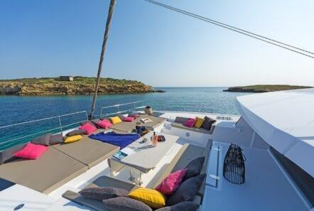 babalu catamaran exterior (3) - Valef Yachts Chartering