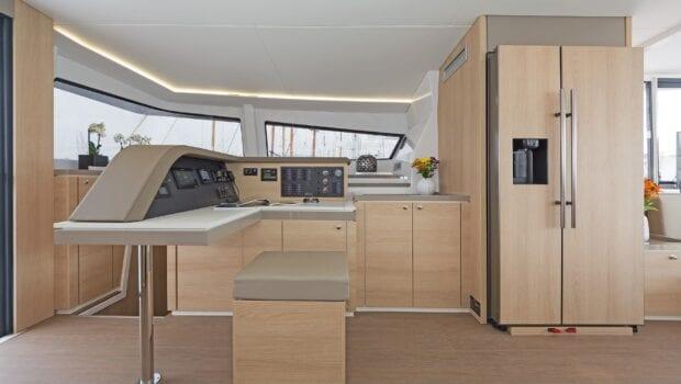 babalu catamaran interior (2) - Valef Yachts Chartering