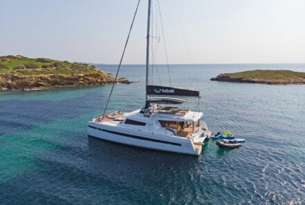 babalu catamaran profile (1) - Valef Yachts Chartering