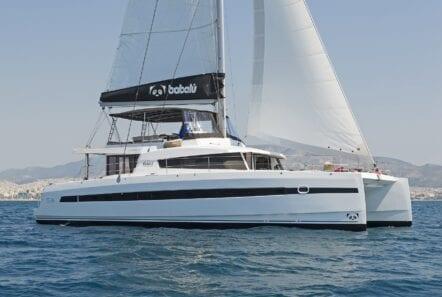 babalu catamaran profile (2) - Valef Yachts Chartering