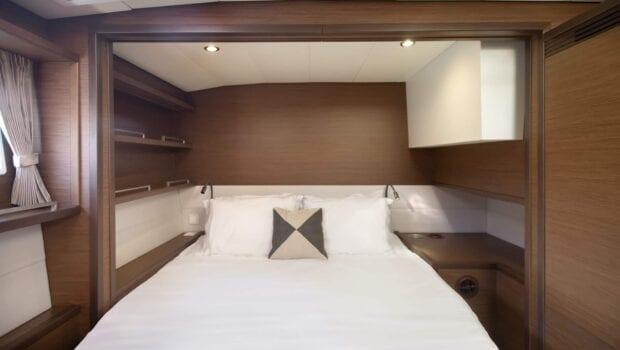 boom lagoon catamaran cabins (2) min - Valef Yachts Chartering