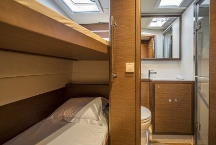 boom lagoon catamaran cabins (3) min - Valef Yachts Chartering