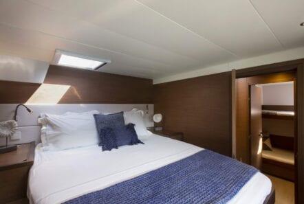 boom lagoon catamaran cabins (6) min - Valef Yachts Chartering