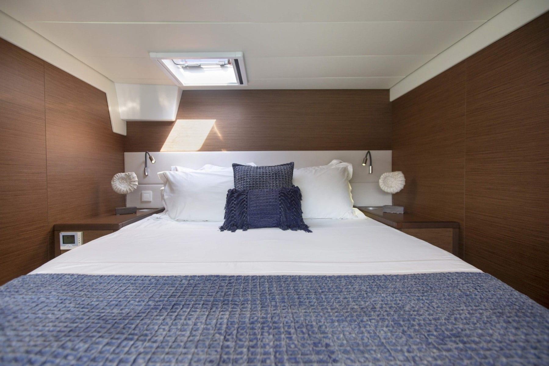 boom lagoon catamaran cabins (9) min - Valef Yachts Chartering