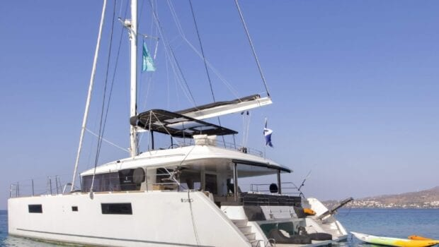 boom lagoon catamaran exterior (4) min - Valef Yachts Chartering