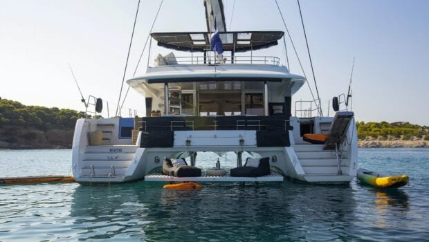 boom lagoon catamaran exterior (5) min - Valef Yachts Chartering